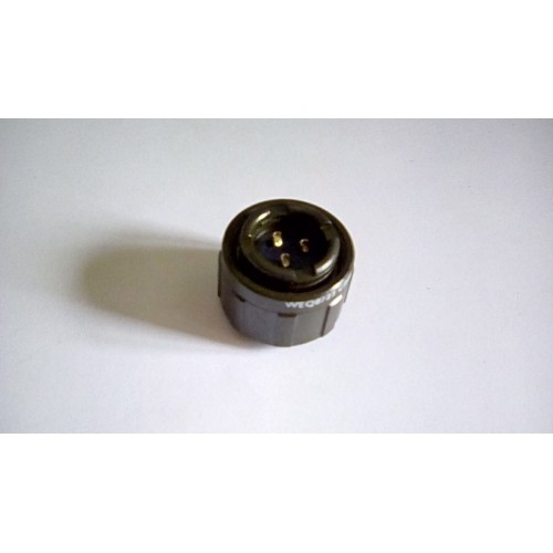 MILITARY ELECTRICAL CONNECTOR FREE SOCKET 3 PIN FEMALE